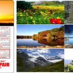 Themed Magnetic calendars