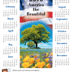 Holiday Patriotic Magnetic