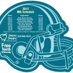 Football Helmet Magnet