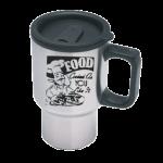 Stainless C-Handle Travel Mug